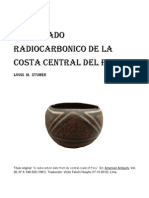 "UN FECHADO RADIOCARBONICO DE LA COSTA CENTRAL DEL PERU / ""A radiocarbon date from de central coast of Peru"" Louis M. Stumer (1961)"