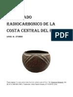 """UN FECHADO RADIOCARBONICO DE LA COSTA CENTRAL DEL PERU / """"A radiocarbon date from de central coast of Peru"""" Louis M. Stumer (1961)"""