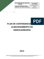 Plan de Contingencias Hidrocarburos 2012