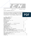 PEN Newsletter No. 44 - Oct 1993