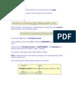 pronoun antecedent agreement rules