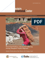 Structural Violence and Social Suffering among Marginal Nepali Migrants