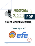 Plan Auditoria Efe