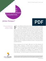 Enquête sur la droitisation des opinions publiques européennes