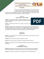 JPCS PLM CONSTITUTION '09-'10