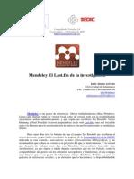 Mendeley El Last.fm de la investigación