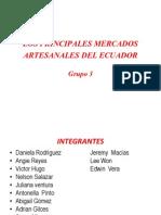 Los Principales Mercados Del Ecuador