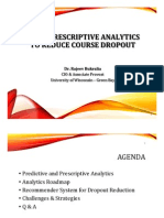 Using Prescriptive Analytics to Reduce Course Dropout (176909130)