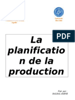 groupe n°14 - la planification de la production