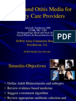EENT Update for Primary Care