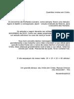 MEV Estudo de Celulas NOV-2013