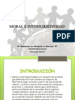 MORAL E INTERSUBJETIVIDAD 4B FILOSOFÍA