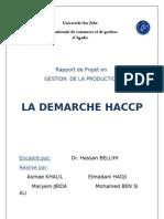 groupe n°36 - haccp