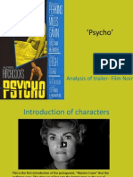 Psycho' analysis