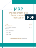 groupe n°38 - management des ressources de production