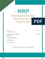 groupe n°38 - management des ressources de production