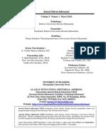 Jurnal Sistem Informasi - Edisi Maret 2010