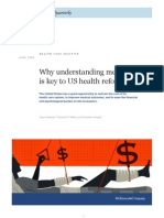 Why Understanding Medical Risk is Key to US Health Reform