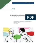 Managing Beyond Web 2.0 Companies