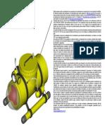 Submarino de Pvc