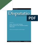 Disputatio Vol. IV No. 34 Logic Norms and Ontology2