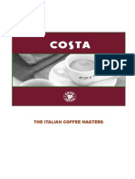 Marketing Plan of Costa