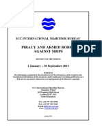 2013 Q3 IMB Piracy Report