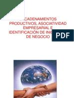 ENCADENAMIENTOS PRODUCTIVOS, ASOCIATIVIDAD EMPRESARIAL E IDENTIFICACIÓN DE.pptx