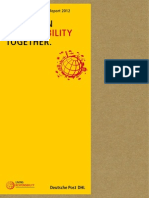 DHL Corporate Responsibility Report 2012