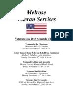 Veterans Day 2013 Schedule.docx