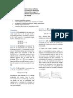 Prova 2 de Cálculo II - Engenharia Industrial Madeireira - UFPR
