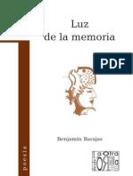 Benjamín Barajas - Luz de la memoria