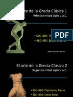 HACA Tema 5. El arte de la Grecia clásica