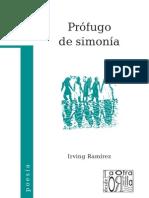 Irving Ramírez - Prófugo de simonía