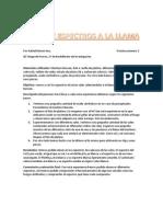 Vista de Espectros a La Llama Informe (II)