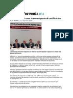 17-10-2013 El Porvenir.mx - La Conago pide crear nuevo esquema de certificación