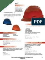 Ficha Técnica casco tipo cachucha V-Gard