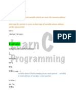 Pointer With Examples