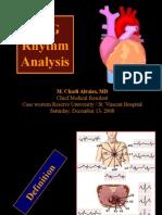 ECG Rhythm Analysis
