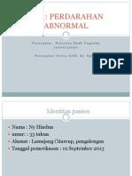 CRS Perdarahan Uterus Abnormal Pras