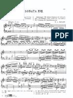 Mozart Sonata XVII Piano