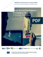 Commercial Sexual Exploitation of Children Online
