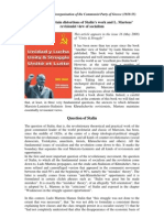Concerning Certain Distortions of Stalin's Work and L. Martens' Revisionist View of Socialism
