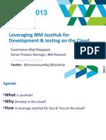 2 Leveraging IBM JazzHub for Development Testing on the Cloud