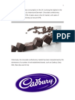 Cadbury Fuse marketing project