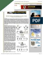 SCADA System Vulnerabilities
