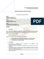 Informe Planta de Trituracion 1