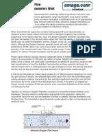 How Ultrasonic Flowmeters Work