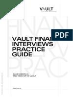 Vault-Finance Practice Guide