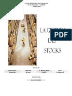 groupe n°16 - la gestion des stocks